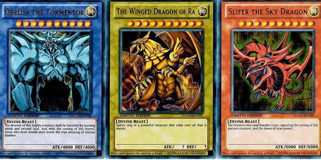 (LF) Yugioh God Card