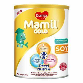 🚚 Buying! Dumex Mamil Gold Soy 1 Year Onwards