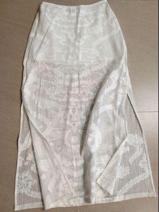 Billabong maxi skirt