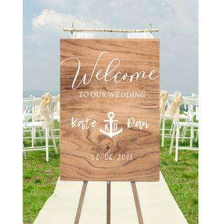 Customised and affordable wedding posters #AnchorLove for sale!