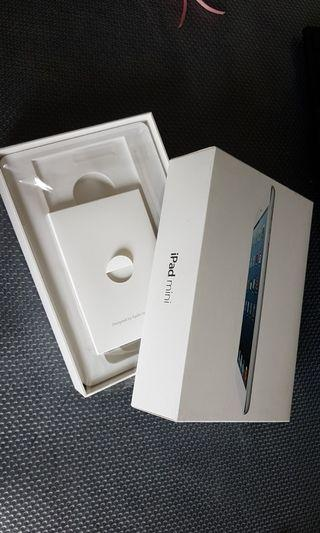 iPad Mini2  BOX ONLY