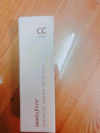 全新清貨 30元 Innisfeee serum cc cream spf35 #MTRmk