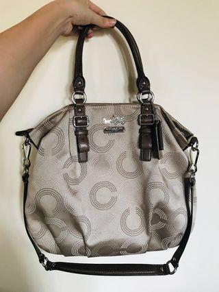 Coach Madison Dotted Handbag