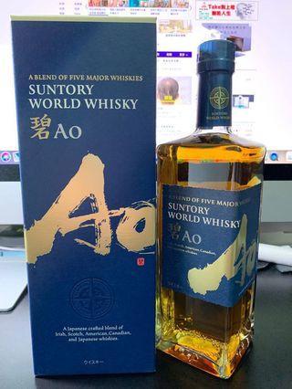碧AO 三得利 威士忌