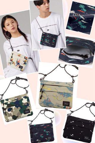 日本 kiu 品牌防水多格鈄咩袋