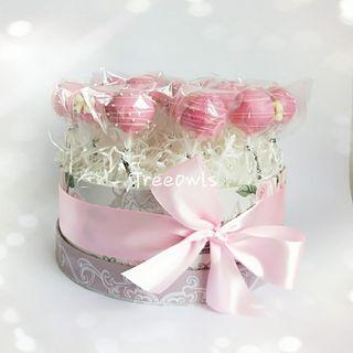Pink Theme Cake Pop Gift Set 😍 💖💞