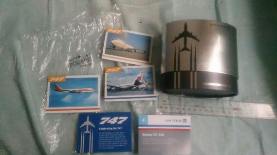 頭等倉紀念版 United Airline Amenity Kit tin box