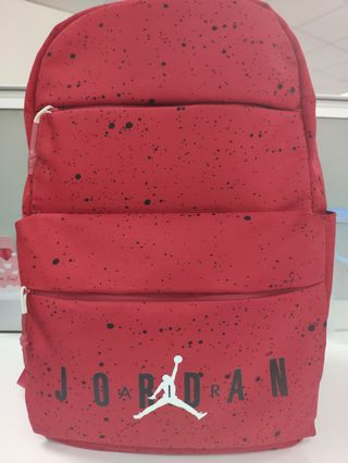 9eb40657e46b Jordan Air Splatter Backpack (Red)