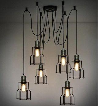 Hanging Edge Creative Lamp