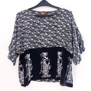 Wayang Batik Blouse