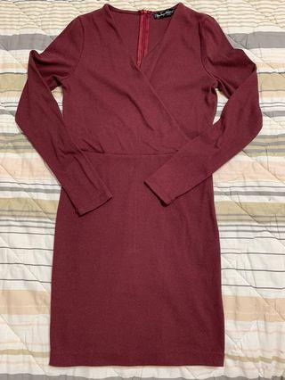 Purple BodyCon Dress (Something Borrowed)