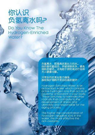 Hydrogen Water System