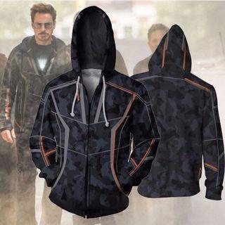 🚀 Avengers Endgame Iron Man Jacket Pullover