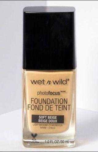 Wet and wild foundation in shade soft beige