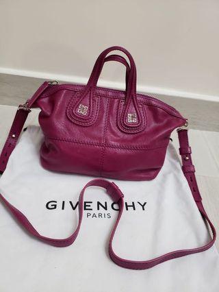 100%real 98%new  Givenchy micro Nightingale bag 袋 pandora