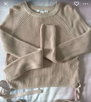 Forever 21 Knitted Cropped Top