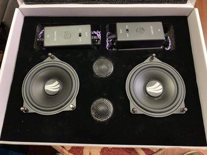 New Rainbow 2 way component speakers