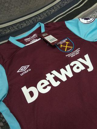 AUTHENTIC WEST HAM UNITED JERSEY