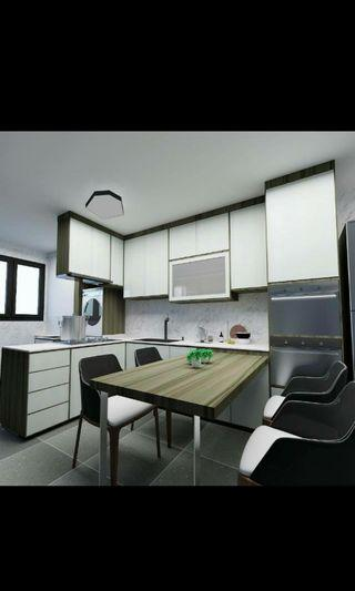 INTERIOR DESIGNER with Hundred Project completed contact us 68469664
