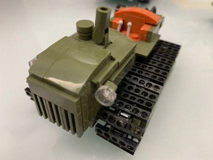森堡二戰軍車三架(兼容Lego)
