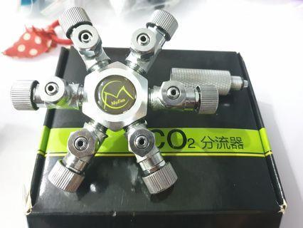 MuFan CO2 6 way splitter
