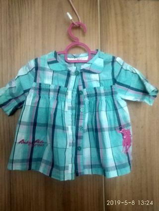 Polo baby  kemeja blouse
