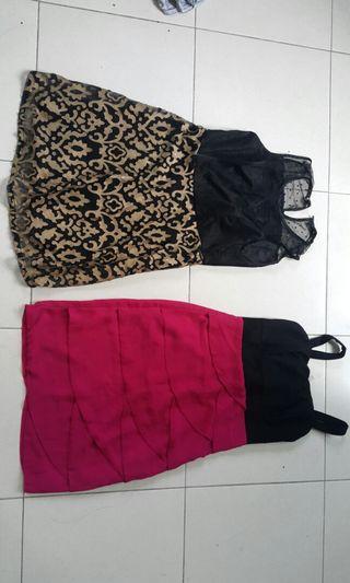 BLACK GOLD &  BLACK PINK DRESS #gayaraya