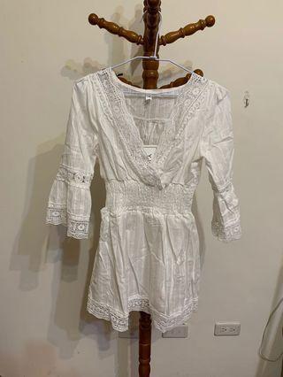 🚚 純白洋裝(特價中)