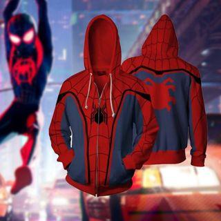 🚀 Avengers Endgame Spiderman Jacket Pullover