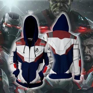 🚀 Avengers Endgame Jacket Pullover