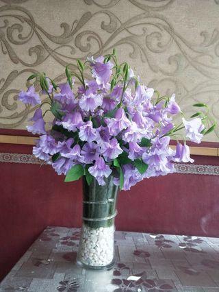 [HARI RAYA SALE!] Light Purple Artificial Flower Arrangement