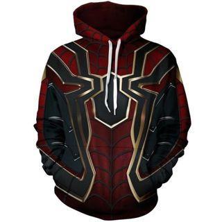 🚀 Avengers Endgame Iron Spider Jacket Pullover