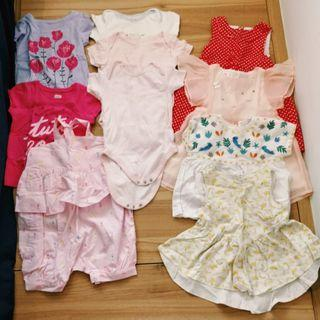 🚚 Baby Toddler Girl 10pc Clothes Bundle (10-24mths)