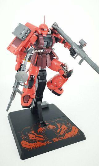 🚚 [Arriving] Zaku Red Char's Counterattack Version Metal Build Chogokin Diecast (ETA: May-June 2019)
