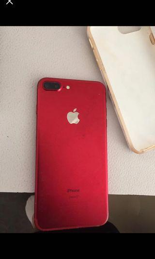RED APPLE IPHONE 7PLUS 128GB