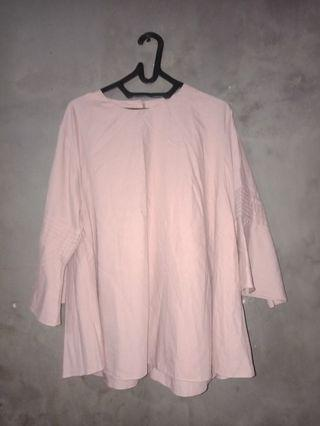 Blouse model payung