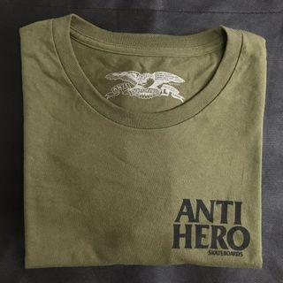 🚚 Anti Hero 軍綠短袖