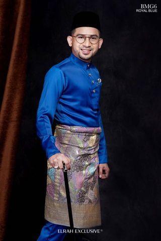 Baju Melayu Gentlemen Lux