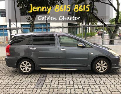 LAST UNIT Toyota Wish 1.8a $60 Grab Rental Gojek Or Personal Use Low price and Cheap PHV MPOV 7 seater