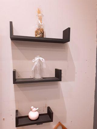 U Shape Wall Shelf