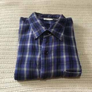 UNIQLO Flannel Shirt / Kemeja Flanel Branded Second Import
