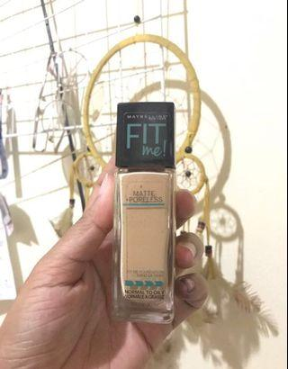 128 maybelline fit me foundation