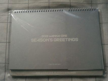 Wanna One Season Greeting Desk Calendar