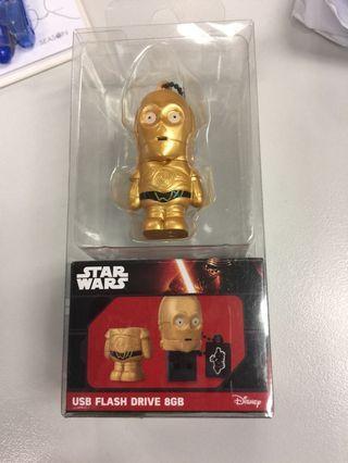 STAR WARS C3PO 8G USB 手指