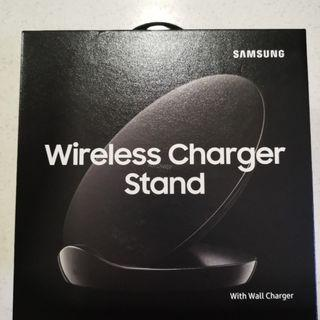Brand new(sealed) Samsung Wireless Charger Stand with Wall Charger