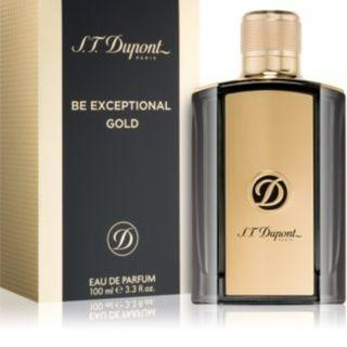 ST DUPONT BE EXCEPTIONAL GOLD EDP 100ML
