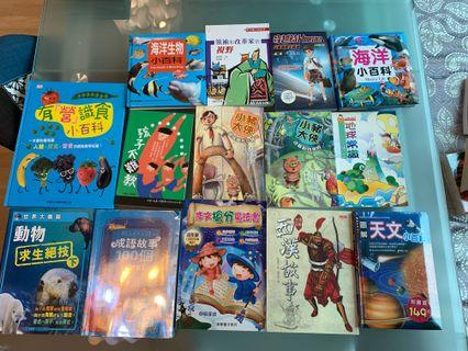 15本中文書