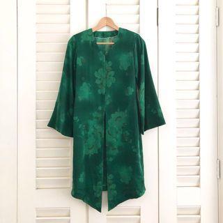 Custom Made Green Kebaya #Carouraya #GayaRaya