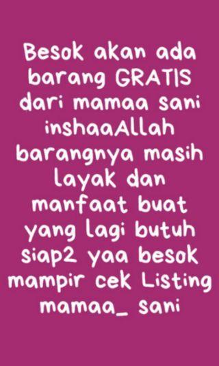 GRATIS edisi Ramadhan