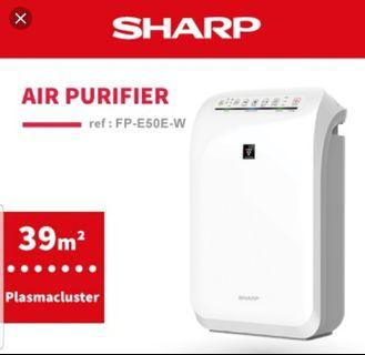 🚚 Sharp Plasmacluster Air Purifier New